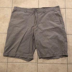 Men's 40 Quicksilver Checkered Shorts